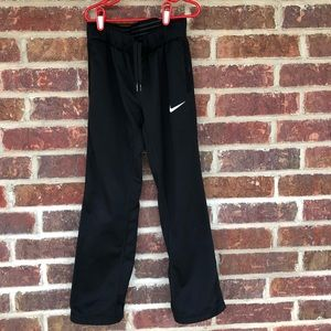 Little Girl's Black Nike Dri-Fit Sweatpants Small